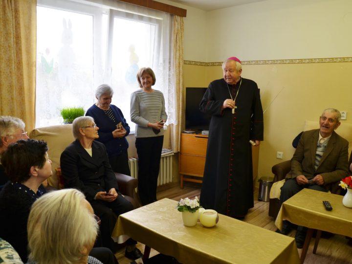 Slávnosť v Dennom stacionári sv. Ondreja v Hôrke
