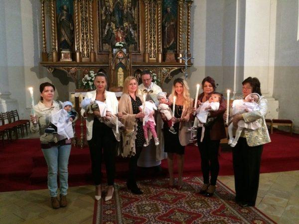 Deti z detského domova v Spišskej Novej Vsi prijali sviatosť krstu