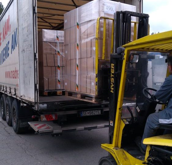 Potravinová pomoc máj-jún 2017