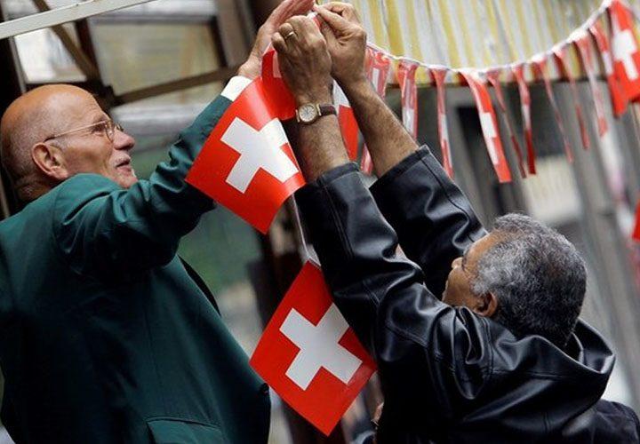 Pomáhajú nám Švajčiari