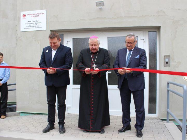 Otvorenie nového denného stacionára v Spišskej Novej Vsi