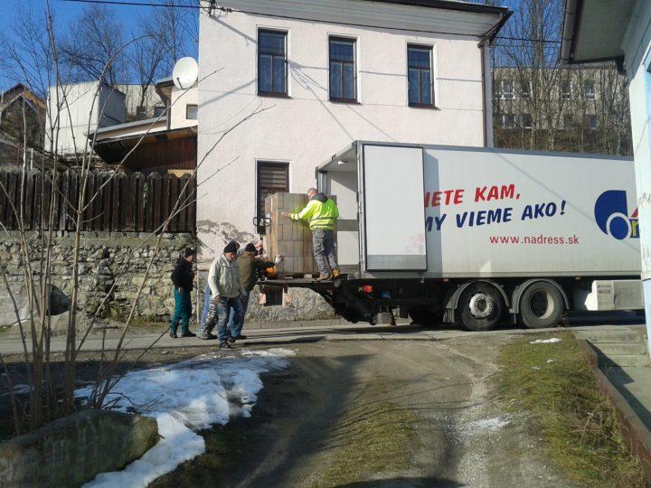 Potravinová pomoc aj v okrese Ružomberok