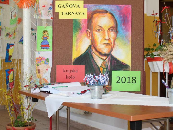 Gaňova Tarnava 2018
