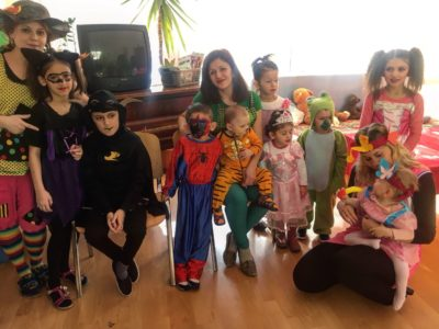 Veselé masky a detský smiech zaplavili dom Charitas sv. Jozefa