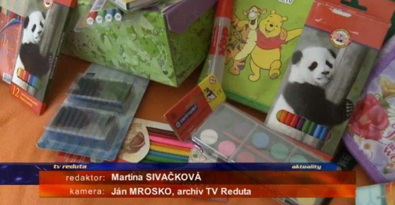 Zbierka školských pomôcok 2017 – TV Reduta