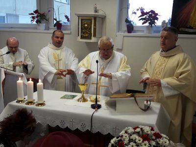 Spišský diecézny biskup oslávil Svetový deň chorých v popradskej nemocnici