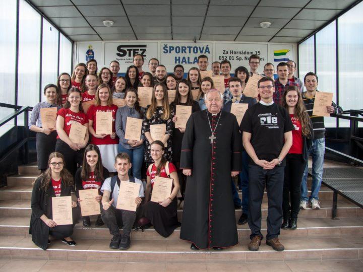Diecézne stretnutie mládeže v Spišskej Novej Vsi