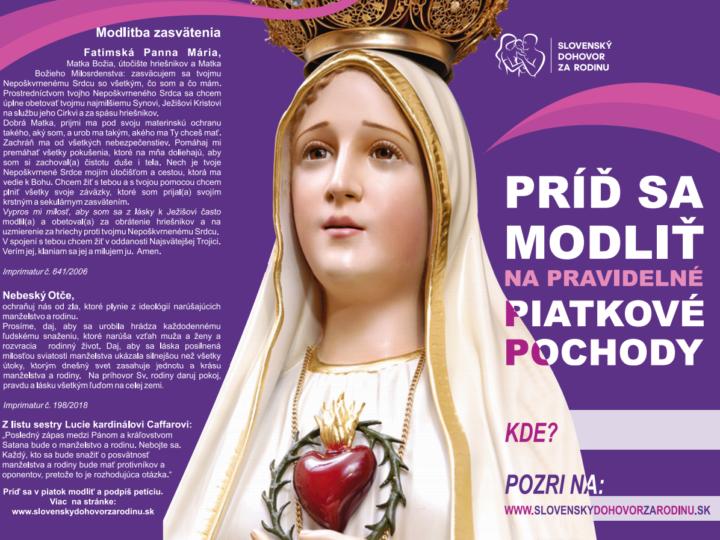 Brožúra Slovenského dohovoru za rodinu