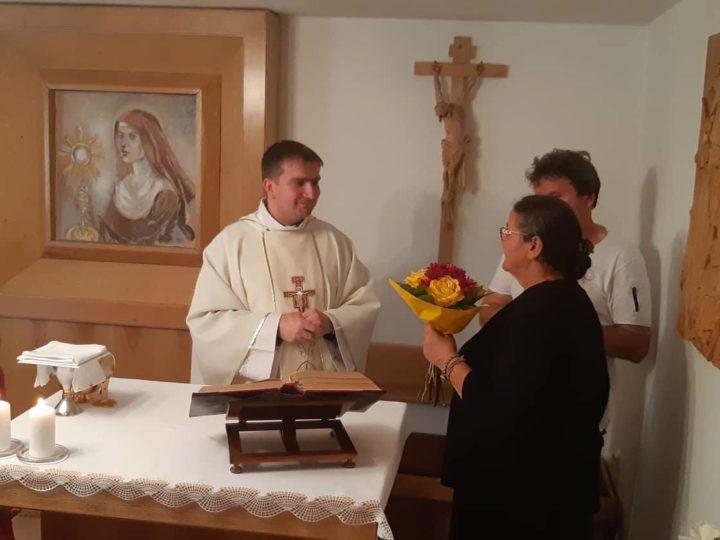 Odpust v Dome Charitas Sv. Kláry