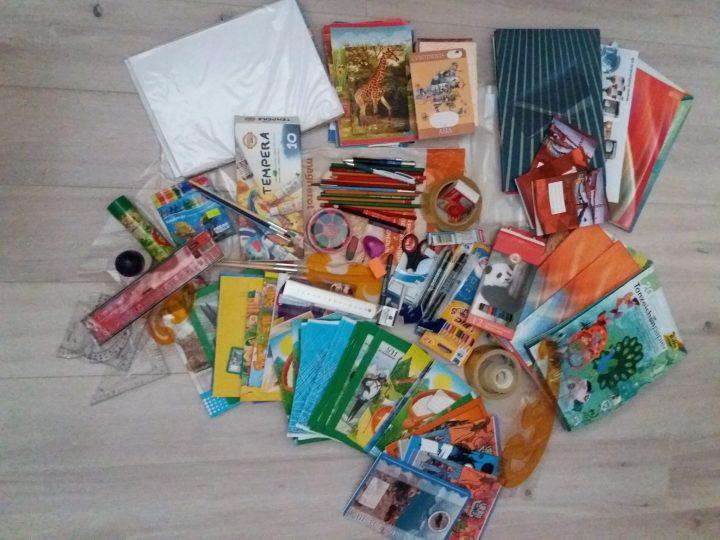 Zbierka školských pomôcok v Liptovskom Mikuláši